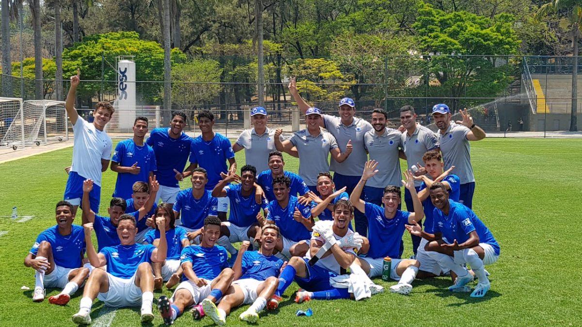 Cruzeiro volta a vencer América-MG e garante vaga na final do Campeonato Mineiro Sub-17