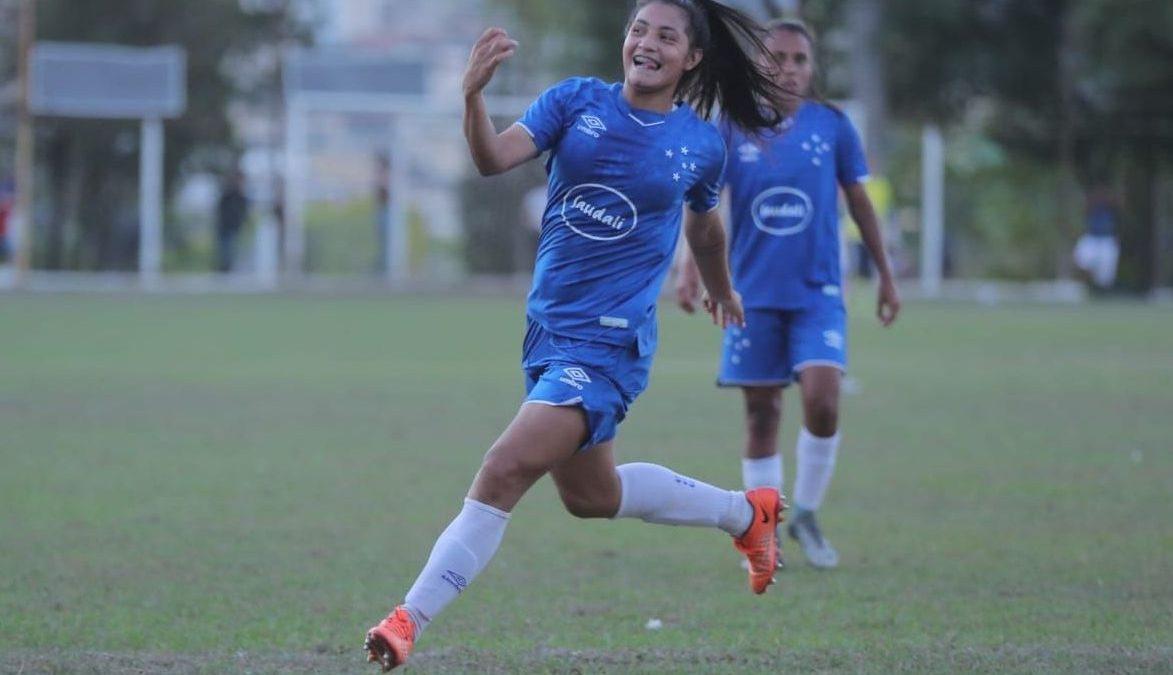 Cruzeiro goleia novamente no Campeonato Mineiro Feminino