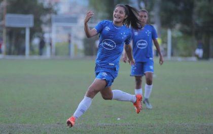 Equipe feminina goleou o Valadares por 7x0 | Foto: Vinnicius Silva/Cruzeiro
