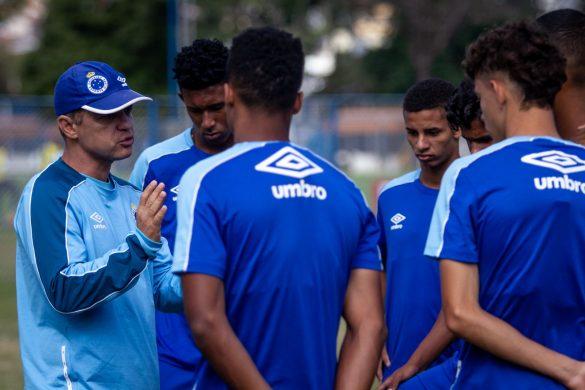 Equipe se mantém dedicada mesmo com goleada no jogo de ida | Foto: Gustavo Aleixo/Cruzeiro
