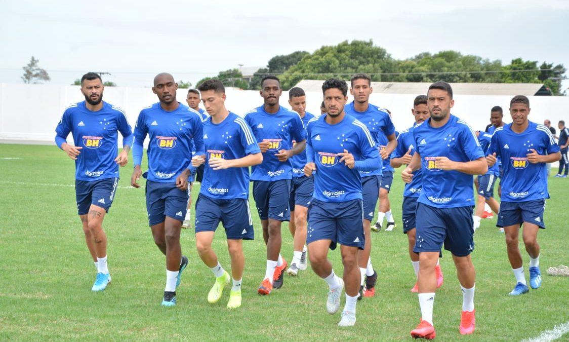 Cruzeiro finaliza, no local do jogo, em Boa Vista-RR, a preparação para a estreia na Copa do Brasil