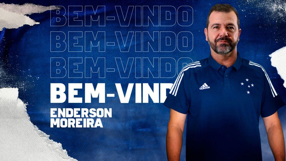 Cruzeiro anuncia Enderson Moreira como novo técnico da equipe